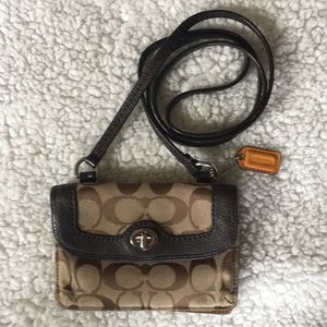 Coach wallet crossbody